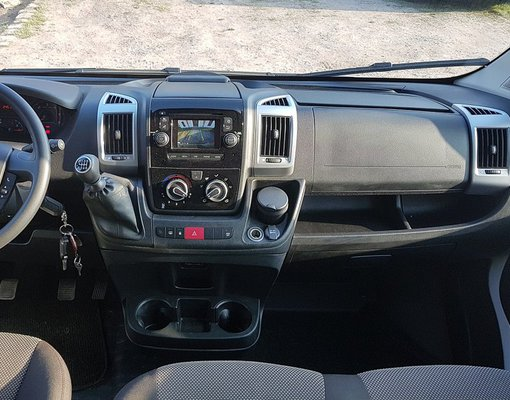Cheap Fiat Ducato 9seats, 2.3 litres for rent in  Czechia