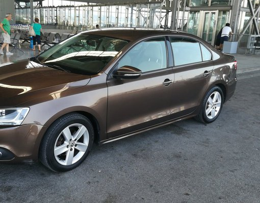 Rent a Volkswagen Jetta in Thessaloniki Greece