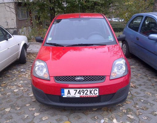 Ford Fiesta, Petrol car hire in Bulgaria
