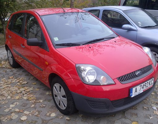 Cheap Ford Fiesta, 1.3 litres for rent in  Bulgaria