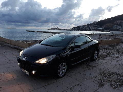 Peugoet 307 CС, Petrol car hire in Montenegro