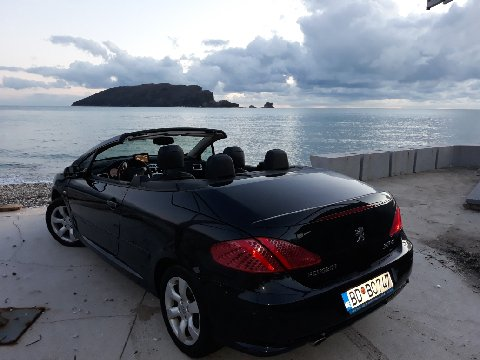Cheap Peugoet 307 CС, 2.0 litres for rent in  Montenegro