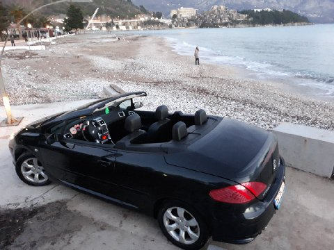 Peugoet 307 CС, Automatic for rent in  Budva