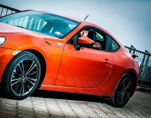 Toyota GT 86, Automatic for rent in  Prague