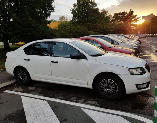Rent a Škoda Octavia III in Prague Czechia