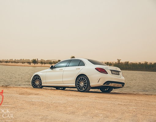 MERCEDES-BENZ C180, Automatic for rent in  Dubai