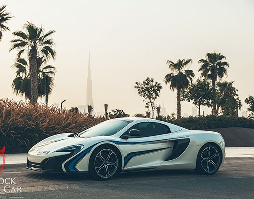 Rent a McLaren 650S Spider in Dubai UAE