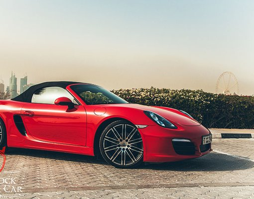 Porsche 981 Boxster, Automatic for rent in  Dubai