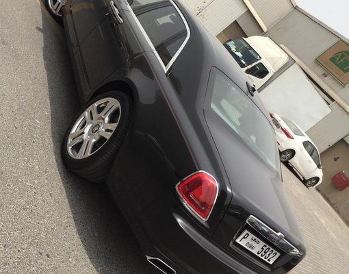 Rolls Royce Ghost 2, Automatic for rent in  Dubai