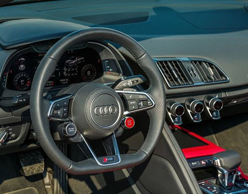 Audi R8 V10 Spyder, 2017 rental car in UAE