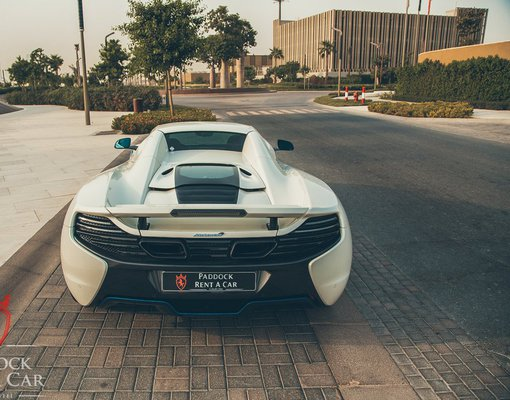 McLaren 650S Spider, Automatic for rent in  Dubai