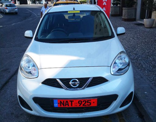 Nissan March, Automatic for rent in  Limassol