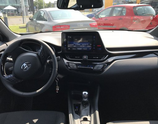 Hire a Toyota C-HR car at Prague airport in  Czechia