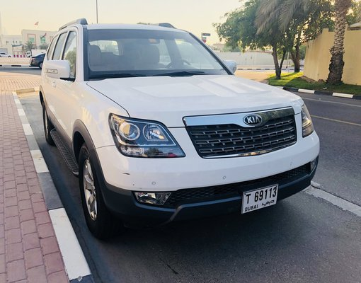 Rent a Kia Mohave in Dubai UAE