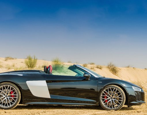 Rent a Audi R8 V10 Spyder in Dubai UAE