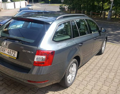 Rent a Škoda Octavia Combi in Prague Czechia