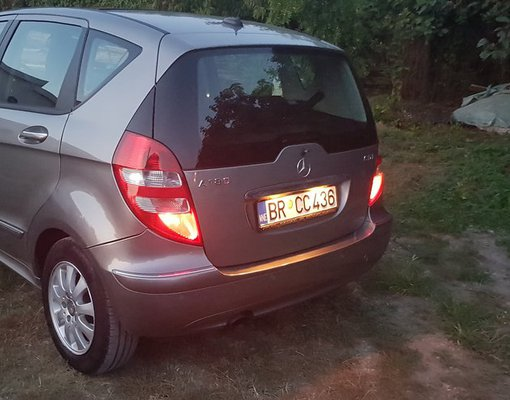 Mercedes A 180 CDI, Diesel car hire in Montenegro