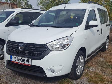Rent a Dacia Dokker in Sofia Bulgaria
