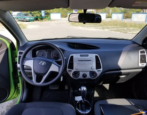 Hyundai i20, 2013 rental car in Montenegro