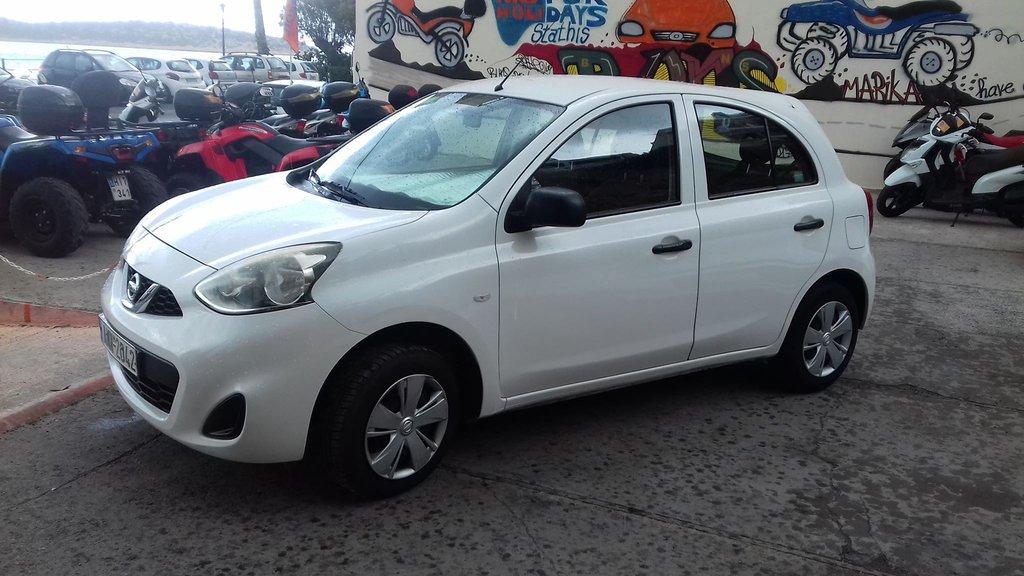 Nissan Micra, 2016, Manual, Petrol, car 1014 in Agios