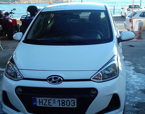 Rent a Hyundai i 10 in Agios Nikolaos Greece