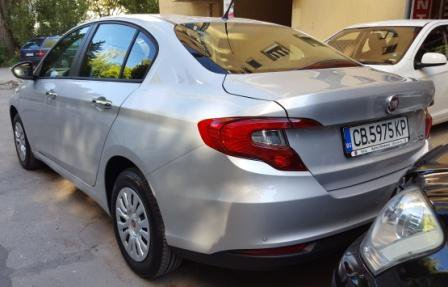 Fiat Tipo, Manual for rent in  Sofia