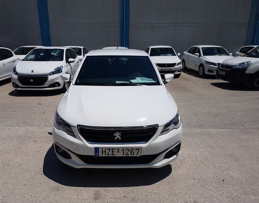 Rent a Peugeot 301 Automatic in Heraklion Greece