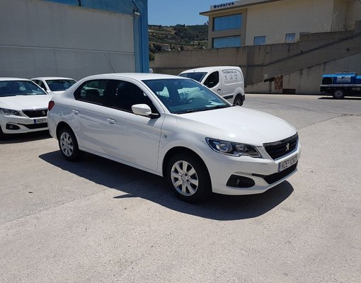 Cheap Peugeot 301 Automatic, 1.6 litres for rent in Crete, Greece