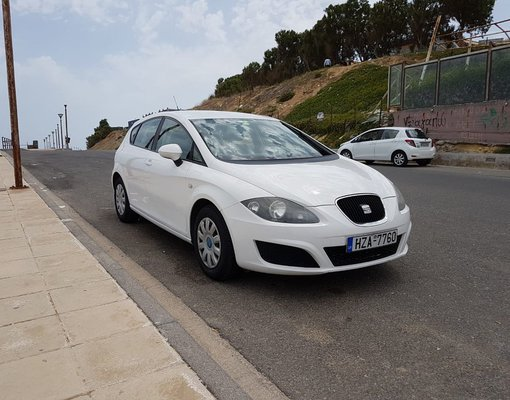 Cheap Seat Leon, 1.4 litres for rent in Crete, Greece