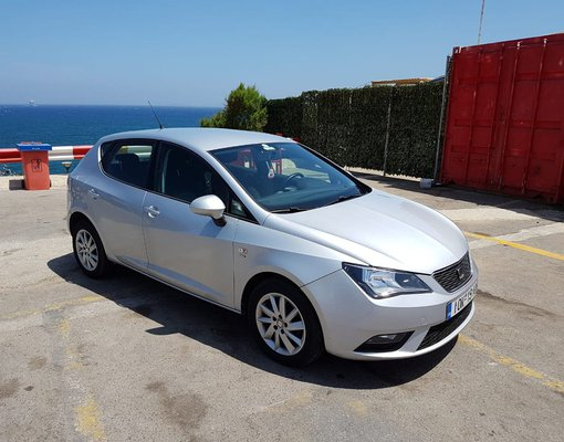 Rent a Seat Ibiza Automatic in Heraklion Greece