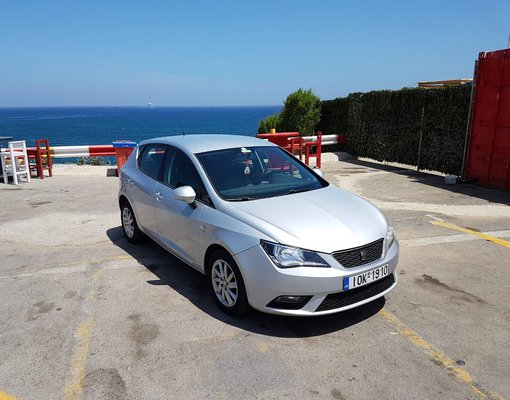 Seat Ibiza Automatic, Petrol car hire in Greece