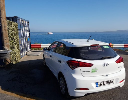 Hyundai i20 Automatic, Automatic for rent in Crete, Heraklion