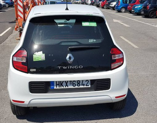 Renault Twingo, Manual for rent in Crete, Heraklion