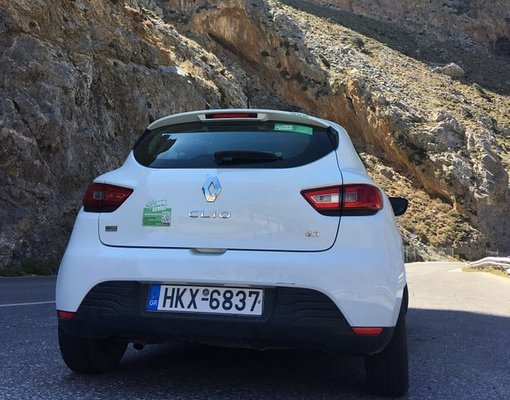 Renault Clio, Diesel car hire in Greece