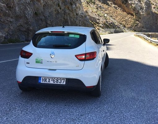 Renault Clio, Manual for rent in Crete, Heraklion