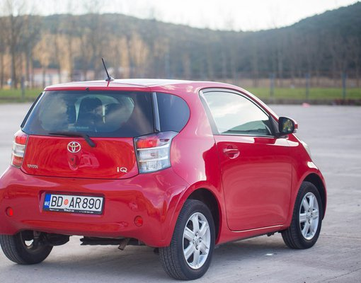 Cheap Toyota IQ, 1.0 litres for rent in  Montenegro