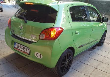Cheap Mitsubishi Space Star, 1.2 litres for rent in  Bulgaria