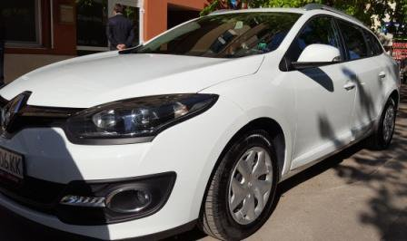 Rent a Renault Megane SW Automatic in Sofia Bulgaria