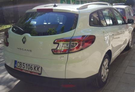 Renault Megane SW Automatic, Diesel car hire in Bulgaria