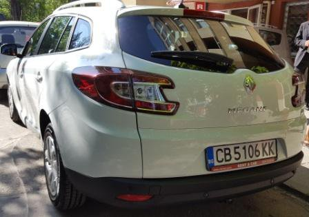 Renault Megane SW Automatic, Automatic for rent in  Sofia