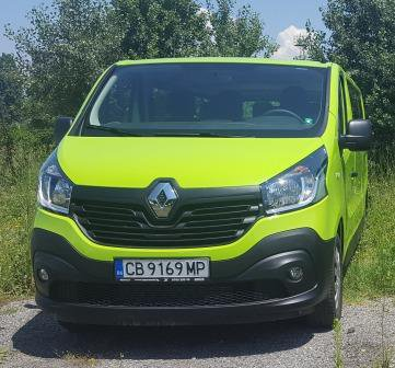 Rent a Renault Trafic in Sofia Bulgaria