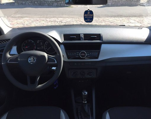 Skoda Fabia, Automatic for rent in  Tivat