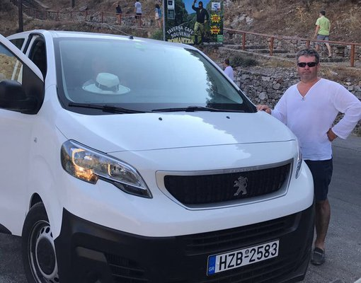 Peugeot Expert, Manual for rent in Crete, Heraklion