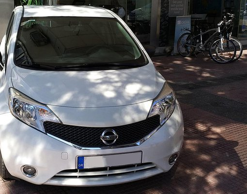 Rent a Nissan Note in Athens Greece