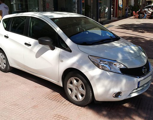 Nissan Note, Manual for rent in  Athens