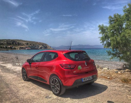 Renault Clio Automatic, Diesel car hire in Greece