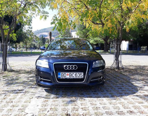 Rent a Audi A3 in Budva Montenegro