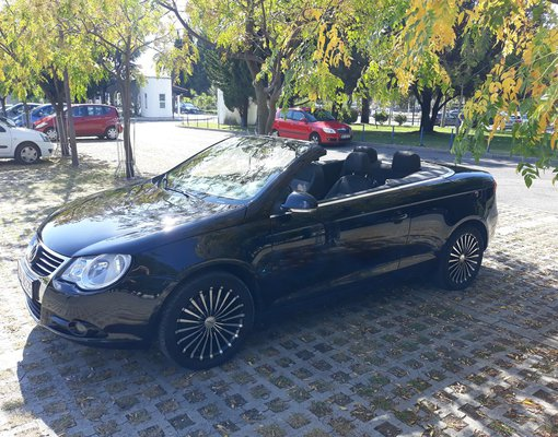 Volkswagen EOS, Automatic for rent in  Budva