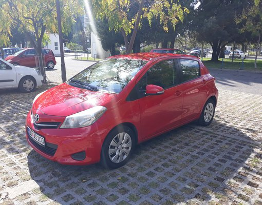 Toyota Yaris, Automatic for rent in  Budva