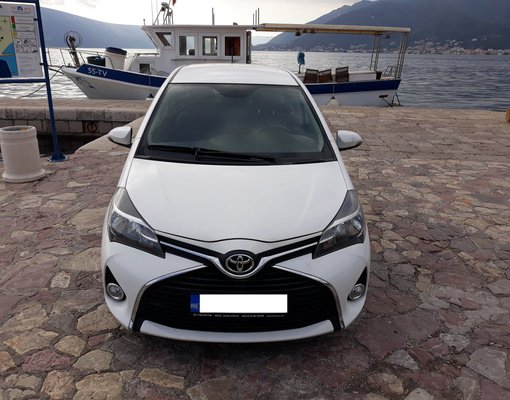 Toyota Yaris, Automatic for rent in  Tivat